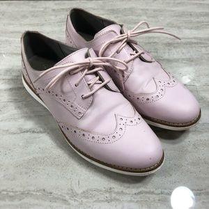 Cole Haan Mauve Oxford Lace Up Shoes